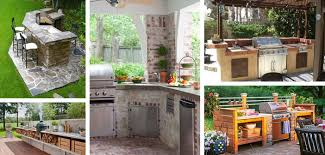 backyard kitchen ideas 27 best outdoor kitchen ideas and designs for 2018