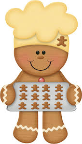 free christmas clipart gingerbread man on pan u2013 gclipart com