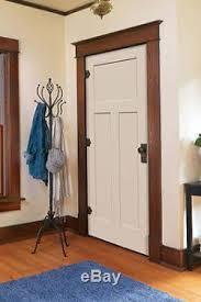 Interior Doors Prehung Craftsman 3 Panel Primed Moulded Solid Core Wood Composite
