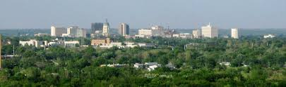 Chicago Google Maps by Google Map Of Topeka Kansas Usa Nations Online Project