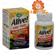 nature s way alive max potency with iron vegetarian capsule bottle