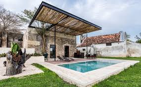 subtle hacienda renovation in mexico marries contemporary and