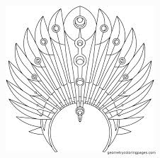 coloring pages of indian feathers indian headdress coloring page many interesting cliparts