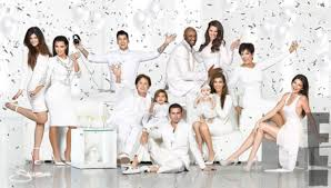 the kardashian christmas card inspires these chic winter white
