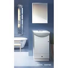 14 Inch Deep Bathroom Vanity Fine Fixtures Petite 18 Inch Wood White Bathroom Vanity Free