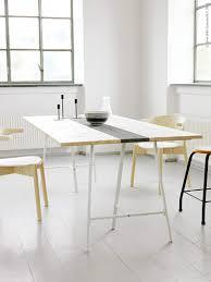 bureau ikea treteaux 39 idées déco de tréteaux pour créer une table ou un bureau tables