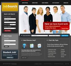 job portal website template 23435