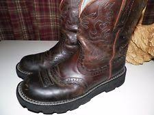 ariat s boots size 9 ariat s mid calf low 3 4 in to 1 1 2 in boots ebay