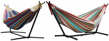double hammock with stand for 94 see mom click