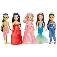 Moxie Girlz Storytime Princess 5 Doll Pack Toys