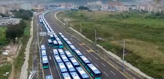 2017 china electric bus round up shenzhen officially goes fully