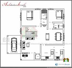 stunning 1600 square feet house plan and elevation architecture