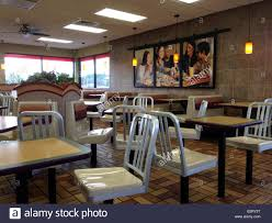 an empty fast food restaurant stock photo royalty free image