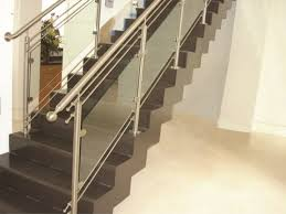 Design For Staircase Railing New Design Stainless Steel Stair Railing In Patparganj Delhi