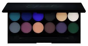 amazon com sleek make up i divine 12pc mineral eyeshadow palette