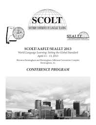 2013 scolt conference program by david jahner issuu