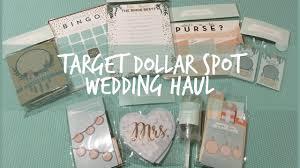 wedding u0026 bridal shower decor target dollar spot haul summer 2017