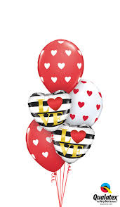 heart balloon bouquet heart balloon bouquet balloons hobart