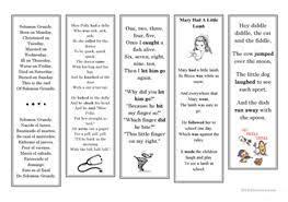 10 free esl nursery rhymes worksheets