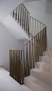 Banisters And Handrails Stair Railing Detail This Design In Matte Black Finish Stairs