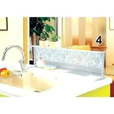 stove splash guard sink splash guard delightful commercial kitchen kitchenaid glass