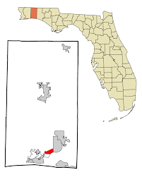 Eglin Afb Map File Okaloosa County Florida Incorporated And Unincorporated Areas