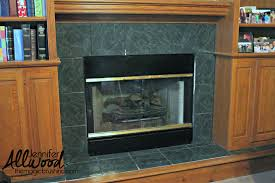 fireplace tile can be painted to completely update your living room