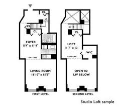 Loft Apartment Floor Plan 666 Greenwich Street Rentals The Archive Apartments For Rent