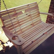 Free Plans For Outdoor Wooden Chairs by Diy Porch Swing Free Templates 17 Steps With Pictures