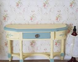 Shabby Chic Side Table Miniature Side Table Etsy