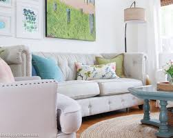 seasonal simplicity spring home tour the happy housie