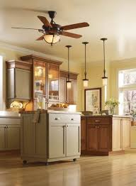 perfect fan kitchen ceiling ideas with hanging lighting decor for