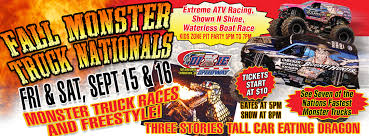 ticket sales 23rd annual dixie speedway fall monster truck