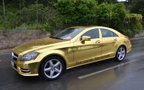 golden cars no joke mercedes benz providing golden shuttle cars at cannes