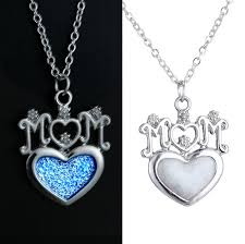 mothers necklaces aliexpress buy s day gift glow in the