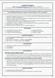 Sample Resume For Freshers Engineers Computer Science Doc Best Resume For  Freshers Than       CV Formats For Free Download