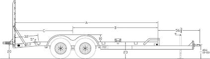 big tex trailer plug wiring diagram big tex car trailers big tex