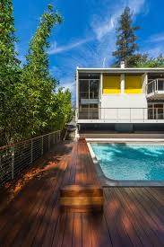 modern home designs awesome revamped ipe wood deck next to the