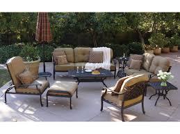 Woodard Cortland Cushion Patio Furniture - darlee outdoor living standard nassau cast aluminum antique bronze