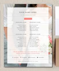 wedding album prices modern photography price list template deals infoparrot