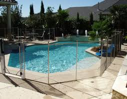 fence design perfect pool safety fence deck sleeves thrilling