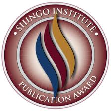 Operation Provide Comfort Awards Publication Award Shingo Institute
