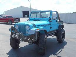 turquoise jeep cj 1980 jeep cj7 for sale classiccars com cc 994041