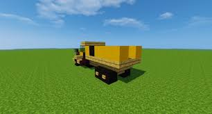 minecraft dump truck articulated dump truck minecraft project