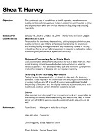 Resume Template Tex Retail Sales Objective Resume Cover Letter For Customer Service