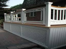 cool deck ideas cool deck railing design modern deck railing