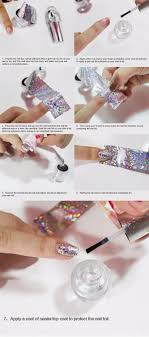 tutorial nail art foil best nails awesome best top coat for nail foils to try for 2018