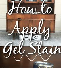 how much gel stain do i need for kitchen cabinets how to use gel stain on wood furniture let s paint furniture