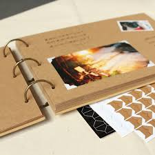photograph albums a4 56p kraft diy handmade baby album creative polaroid