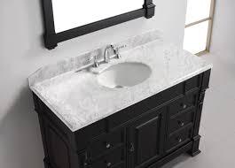 virtu usa huntshire manor 48 single bathroom vanity set in dark